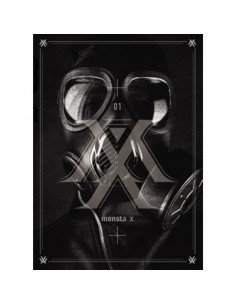 MONSTA X 1st Mini Album - TRESPASS CD + Poster