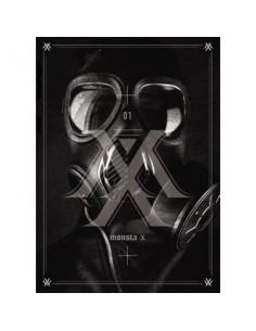 MONSTA X 1st Mini Album - TRESPASS CD + Poster