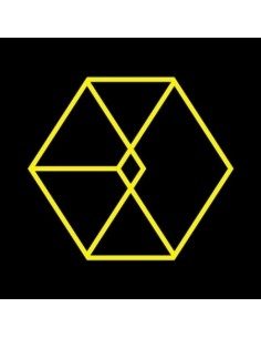 EXO 2nd Album REPACKAGE - LOVE ME RIGHT (Chinese Version) CD + POSTER