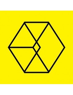 EXO 2nd Album REPACKAGE - LOVE ME RIGHT (Korean Version) CD + POSTER