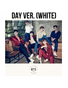 2PM Fitth Album - No.5 CD + Poster : DAY Version (White)