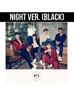 2PM Fitth Album - No.5 CD + Poster : NIGHT Version (Black)