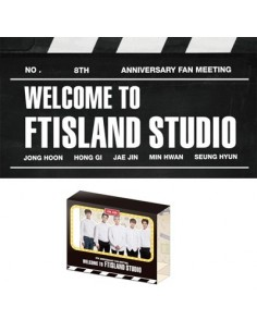 [FTISLAND Official Goods] FTISLAND 8th Anniversary Fan Meeting : WELCOME TO FTISLAND STUDIO - Popup Card