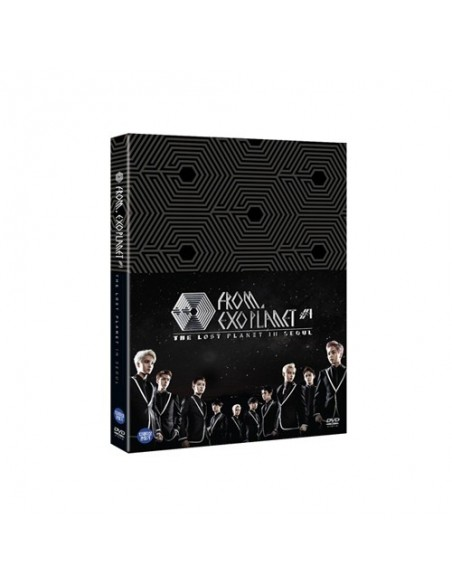 EXO FROM EXOPLANET 1 THE LOST PLANET - in SEOUL DVD