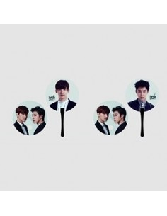 "[SM Official Goods] TVXQ SPECIAL LIVE TOUR IN SEOUL : ""TISTORY & ...!"" Concert Goods - PP Fan Set ( 2Kinds )"