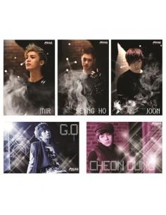 [MBLAQ Official Goods] MBLAQ Postcard Set - Ver.C