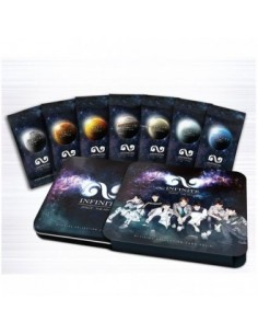 [Limited Edition] INFINITE Official star collection card set 2