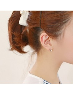 [AS88] Factory Girl Earring
