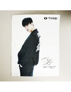 [SM official Goods] TVXQ Autographed Printed Bromide LIMITED Poster ( 2Kinds )