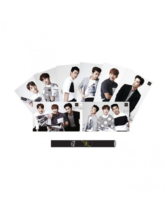 """[ JYP Official Goods ] 2PM """"House Party"""" Concert Goods - Poster ( 2Kinds )"""