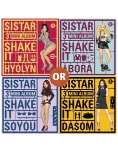 Sistar 3rd Mini Album - Shake It CD
