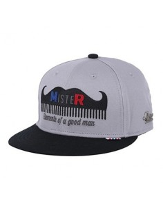 [MR.REAL GOODMAN] SNAPBACK 201 (GY)