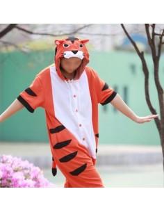 [PJA167] Animal Short Sleeve Pajamas - Eurasian Red Squirrel