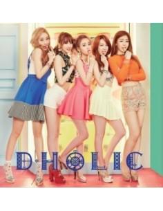 D.HOLIC 1st Mini Album - 쫄깃쫄깃 CD + Poster + Photobook (44p)