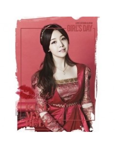 Girls Day The 2nd  Album - LOVE CD + Photobook 96p +1 Photo Card + Poster [MINAH Version]