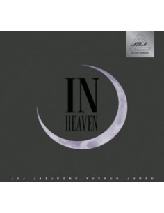 JYJ - In Heaven First Album CD + Poster + 40 pages Booklet [BLACK]