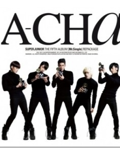 Super Junior 5th Album Repackage - A-CHA CD + Photocards