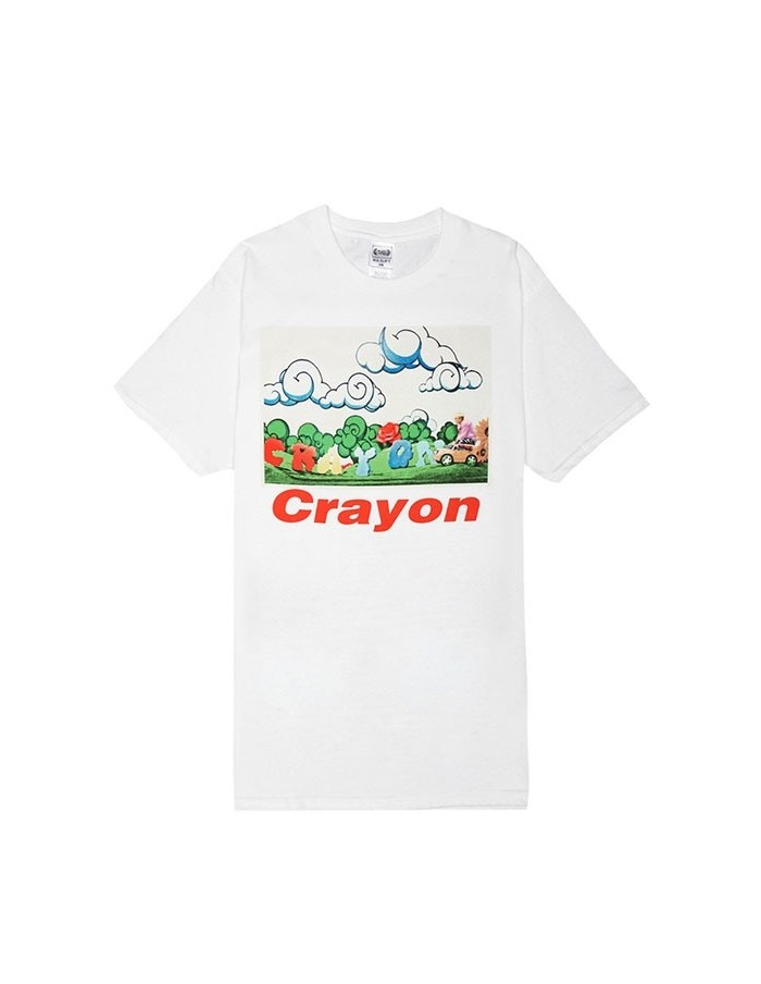 [ YG Official Goods ] M.V Clip T-Shirts - GD : Crayon