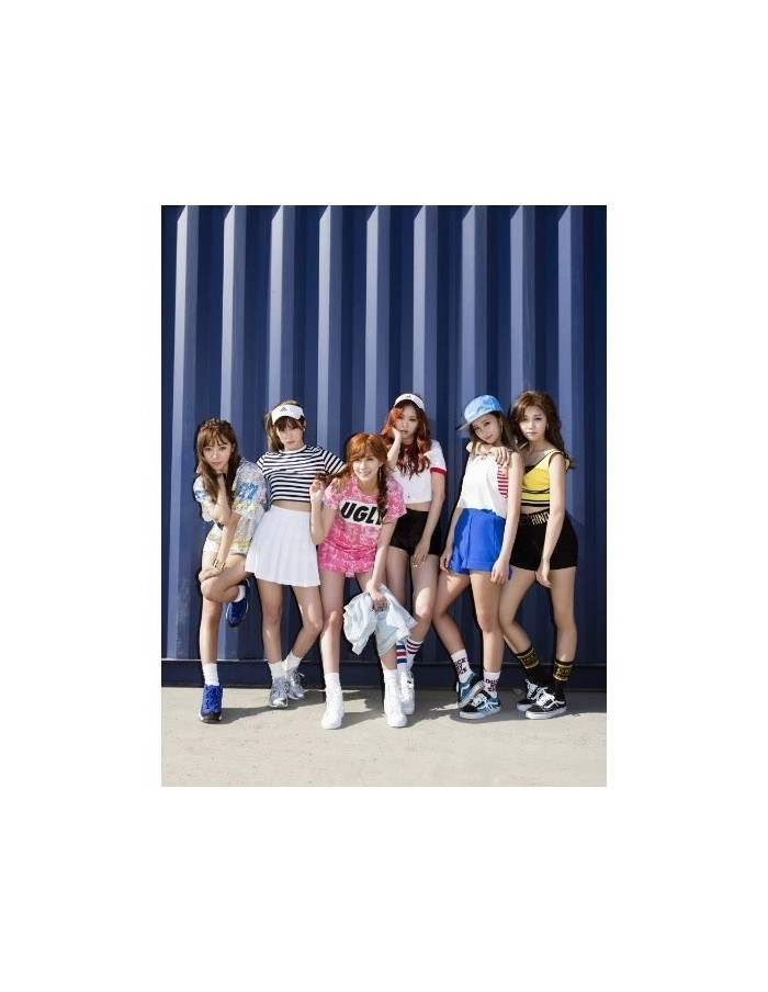 APINK A PINK 2nd Album - Pink Memory CD + POSTER (RED Ver.)