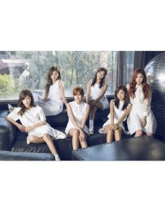 APINK A PINK 2nd Album - Pink Memory CD + POSTER (WHITE Ver.)