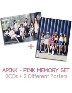 APINK A PINK 2nd Album SET - Pink Memory 2CDs + 2POSTER