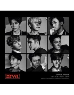 SUPER JUNIOR Special Album - DEVIL CD