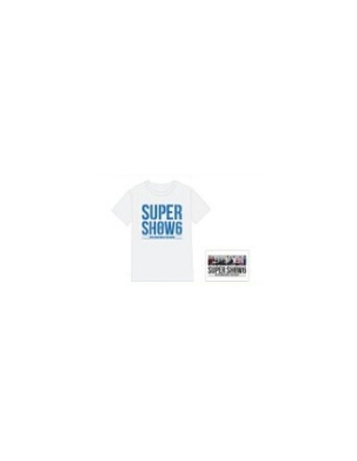 [SM Official Goods] Super Junior WORL D TOUR - SUPER SHOW 6 ENCORE : T-shirt + Photo Postcard