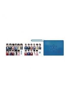 [SM Official Goods] Super Junior WORLD TOUR - SUPER SHOW 6 ENCORE : Pouch + 2 Photo Postcards