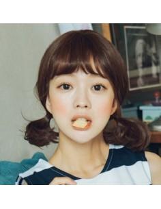 [ Pinkage ] Full wig Medium - Sunny Perm