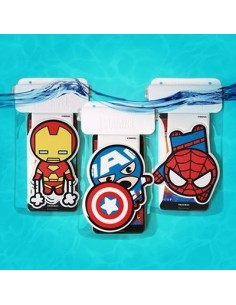 MARVEL Character Waterproof For Smart Phone (3 Type)