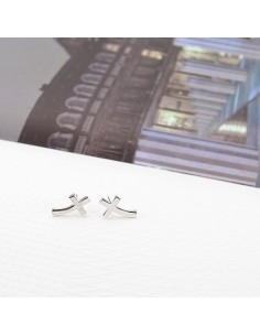 [SH103] Shinee Curve Cross Earring