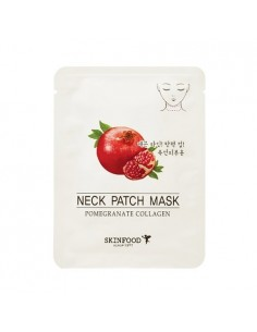 [Skin Food] Pomegranate Collagen Neck Patch Mask 10g