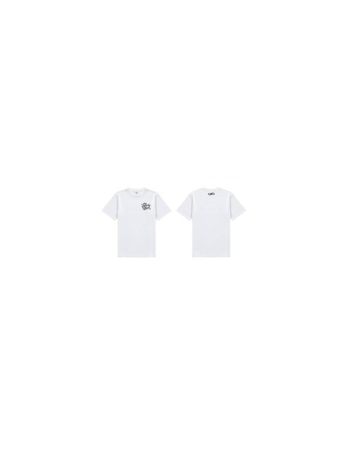 "[ INFINITE Official Goods ] 2015 Infinite 2nd World Tour ""Infinite Effect"" - T Shirt A (White)"