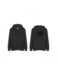 "[ INFINITE Official Goods ] 2015 Infinite 2nd World Tour ""Infinite Effect"" - Hoodie B (Black)"