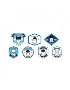 [ BTS Official Goods ] BTS New Hiphop Monster Goods - Wappen