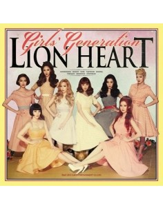 Girls Generation SNSD 5th Album Lion Heart  Vol 5 CD + Poster
