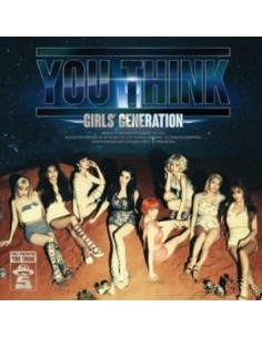 Girls Generation SNSD 5th Album B Version - You Think CD + Poster