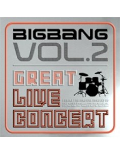BIGBANG 2nd Live Concert [THE GREAT] CD