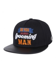 [MR.REAL GOODMAN] SNAPBACK 203 (BK)