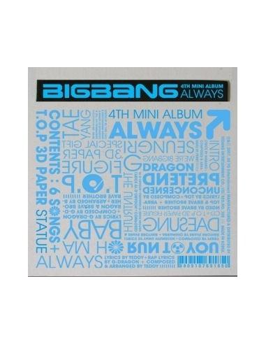 BIGBANG 1st Mini Album Always CD