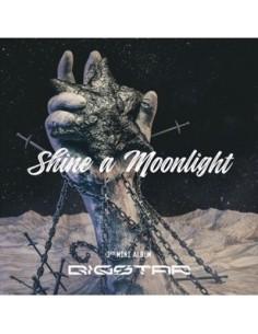 BIGSTAR 3rd Mini Album - SHINE A MOONLIGHT CD + Poster