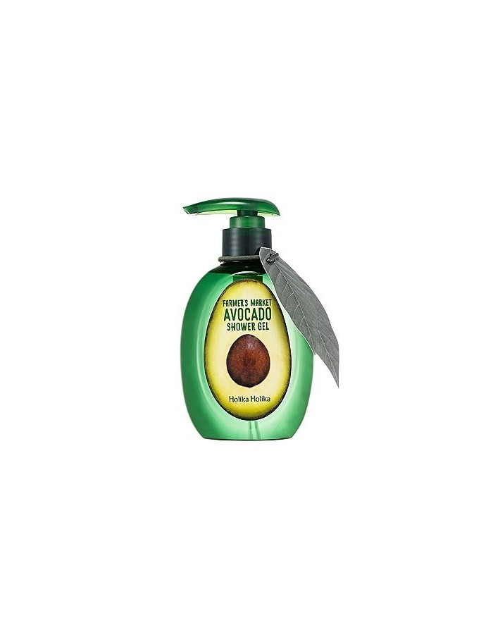 [Holika Holika] Farmer's Market Avocado Shower Gel 240ml