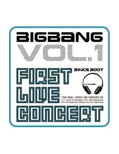 BIGBANG 1st Live Concert [THE REAL] CD