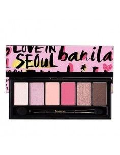 [BANILA CO] Fall in Seoul Eye Shadow Palette 5.8g