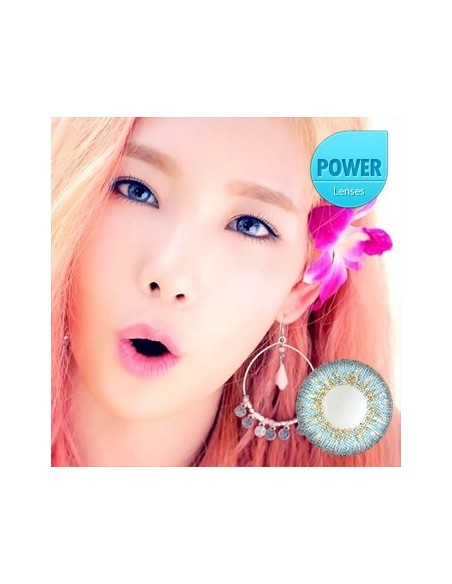 [ O-Lens ] Jennis 3 Color - Blue (Prescription)