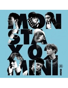 MONSTA X 2nd Mini Album - RUSH (Secret Version) CD + Poster