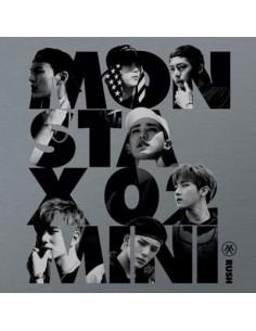 MONSTA X 2nd Mini Album - RUSH (Official Version) CD + Poster
