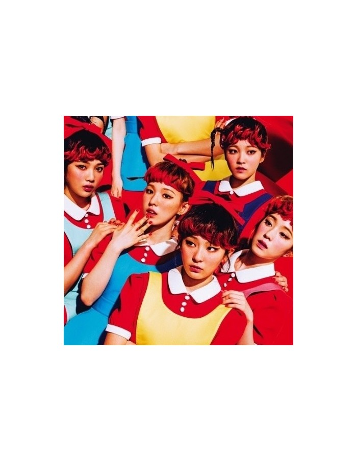 Red Velvet 1st Album - The Red CD + Poster