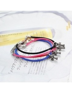 [BB38] Bigbang Jiywong Sty Cross Sword Color Bracelet