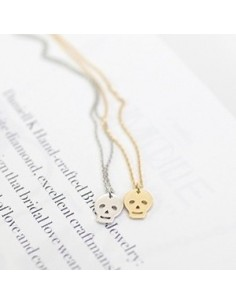 [FT06] FTISLAND Hoonggi Style Mini Skull Necklace
